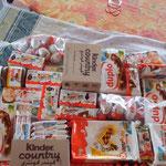 Nach dem Einkauf bei Ferrero