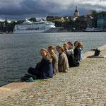 am Hafen Stockholms