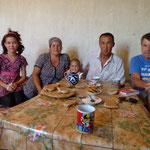 Zu Gast bei einer usbekischen Familie zum Chai