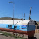 umgebauter Tank zum Wohnraum