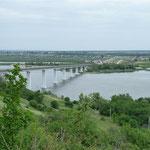 Es geht weiter über die Brücke in des Asiatischen Teil Russlands.