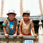 zwei waschechte Mongolen