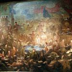 Bild der Gründung der Mongolei 1921