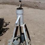 Impression  - Grundwasserist sehr salzig und nur 1m unter dem Boden