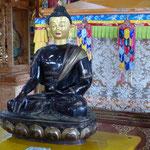 der schwarze Buddha