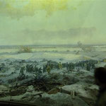 Kriegsdarstellung in der Ausstellung des Museums