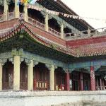 Zentralgebäude im Klosterinnenhof - der Tempel