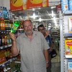 Ich halte mich an die Minimärkte, die haben gekühlte Getränke