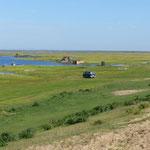 unser Stellplatz am Baikalsee am Ostufer