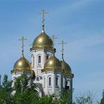 Mittendrin eine orthodoxe Kirche - vielleicht ein Ort der Vergebung