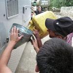 Tanken auf Tadschigisch