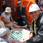 auch Mongolen spielen Schach
