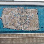 Gekachelte Stadtkarte