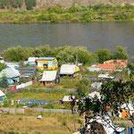 Blick auf den Serenga - einer der großen Flüsse der den Baikalsee speist