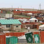 in der Stadt Altai
