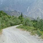 auf dem Weg nach Khorog