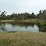 大乗院庭園 尋尊と善阿弥による池泉回遊式庭園