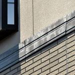 ②外壁と幕板の隙間から浸水し腐食。