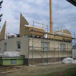 Neuaufbau Dachgeschoss in Holzbauweise