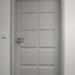 Denkmalgeschützte Tür