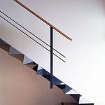 Treppe als Faltwerk