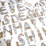 「BEAMS DESIGN(ビームスデザイン)」HAPPYハンカチ&雑貨 (2018年・春夏ライン) / イラストレーションを担当しました