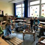 Klassenraum der 2b