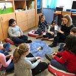 Gemütliche Ecke im Lehrerzimmer