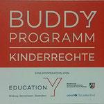 Unsere Buddy-Plakette