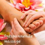 Ontspannende voet- en handmassage