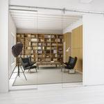 Фурнитура для откатных дверей от MWE Edelstahlmanufaktur Gmbh Akzent R
