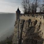 Rundweg auf der Festung