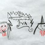 Vampirja, netopir, grom in strela
