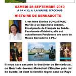 Histoire de Bernadotte - Mme Sundström