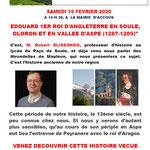 Edouard 1er de passage en Soule et en Aspe - Robert Elissondo