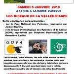 PNP et GOPA  Les Oiseaux de vallée d'Aspe