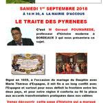 Poumarède traité des Pyrénées