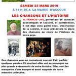 Cha Les Chansons dans l'Histoire