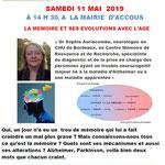 Mme Auriacombe Mémoire