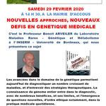 Nouvelles approches et défis  en génétique médicale - Benoit Arveiler
