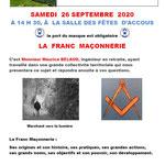 La Franc Maçonnerie - Maurice Belaud