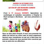 Le vin et les risques cardio-vasculaires - Jacques Bonnet