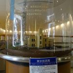 内藤先生設計第一号鉄塔の模型