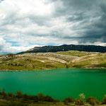 Auf dem Weg durch den Sutjeska-Nationalpark