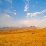 Weite Landschaften im Norden von Montenegro