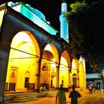 Die größte Moschee in Sarajevo: Gazi-Husrev-Beg-Moschee.