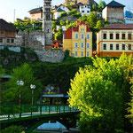 Die Altstadt von Jajce - ehemaliger Sitz der bosnischen Könige