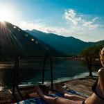 Samstag:Erfrischung am Boracko-See