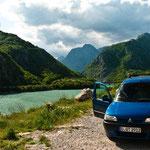 Seen und Berge - unsere ständigen Begleiter