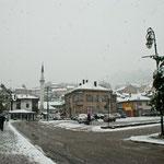 Montag: Schnee!